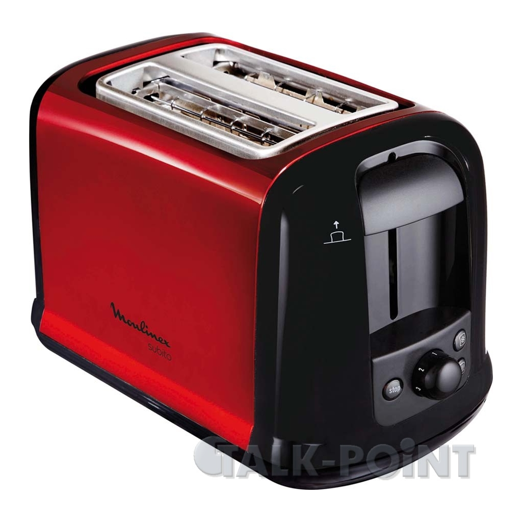 moulinex lt 261d toaster rot schwarz schlitz toaster ebay. Black Bedroom Furniture Sets. Home Design Ideas