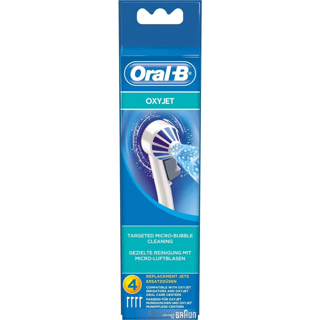 braun ed oxyjet 4er oral b mundpflege zubeh r ebay. Black Bedroom Furniture Sets. Home Design Ideas