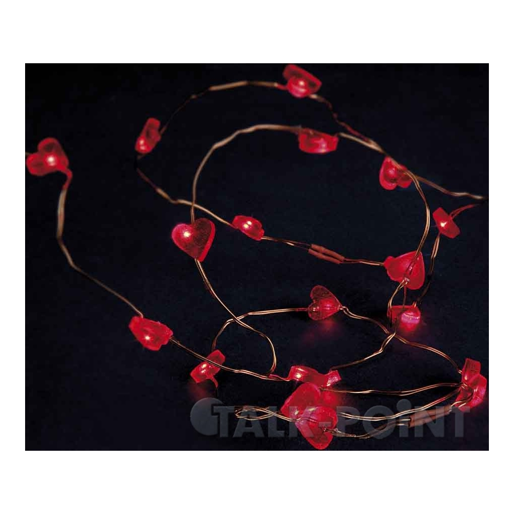 Hellum Glühlampenwer Hellum 570854 LED-Lichterkette mit Herzen