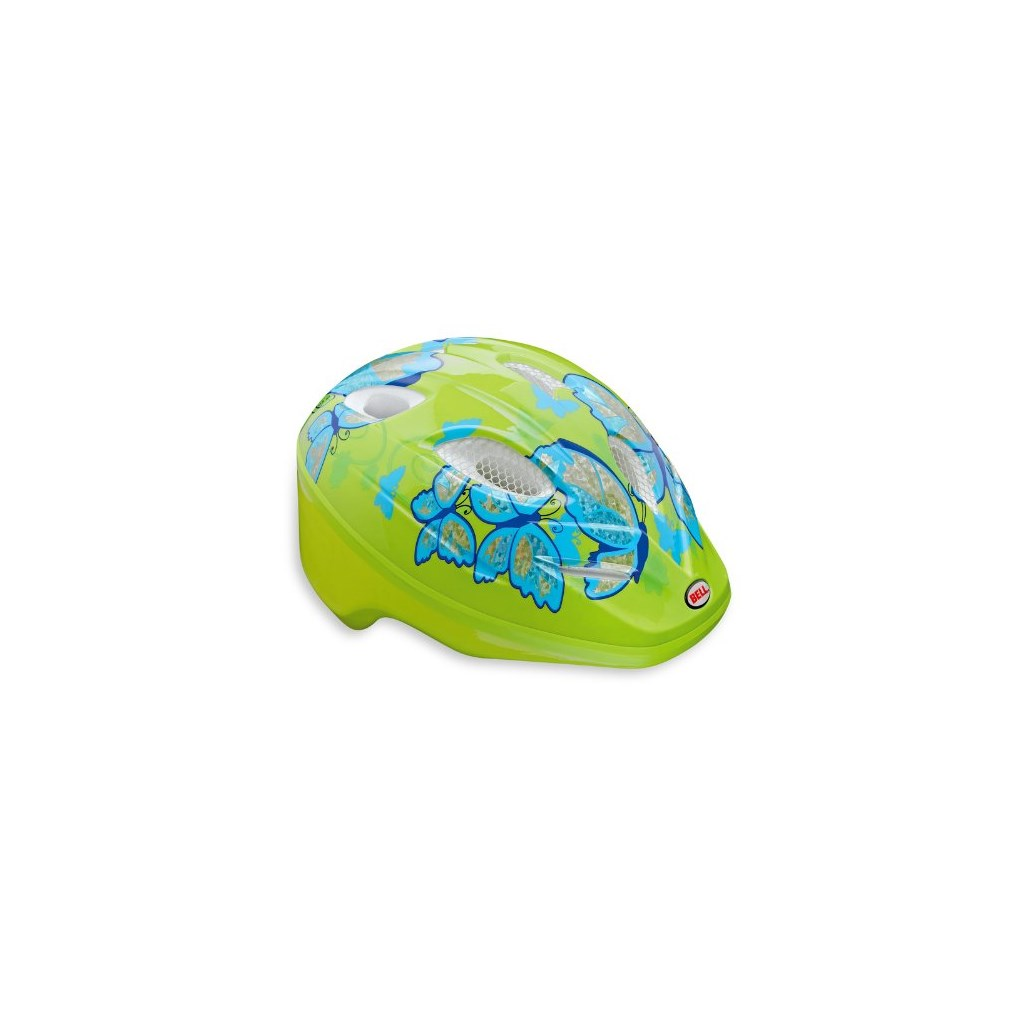 bell kinder fahrradhelm splash pale green light blue. Black Bedroom Furniture Sets. Home Design Ideas
