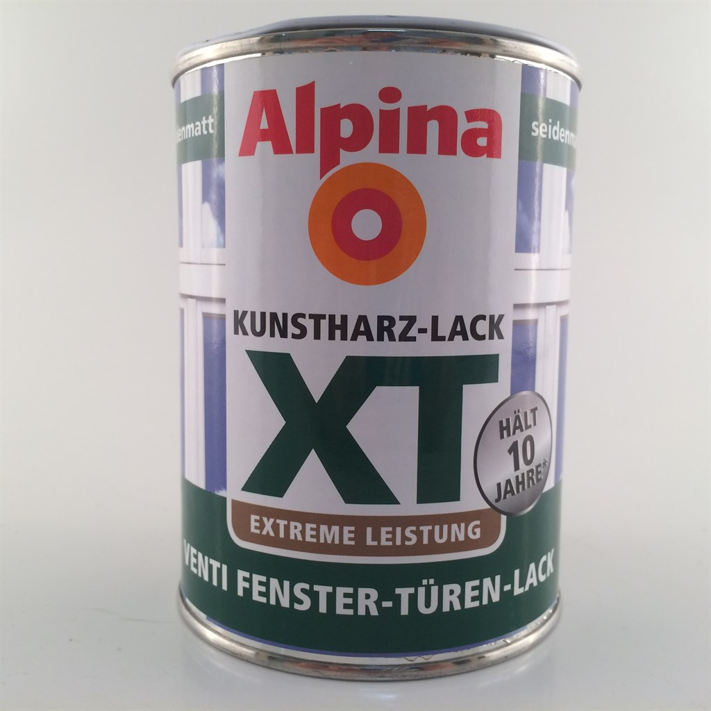alpina xt venti fenster t ren lack premiumlack weiss seidenmatt 12 99 l ebay. Black Bedroom Furniture Sets. Home Design Ideas