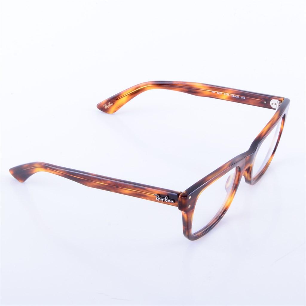 ray ban vista brillengestell rb5227 2144 havanna wie neu. Black Bedroom Furniture Sets. Home Design Ideas