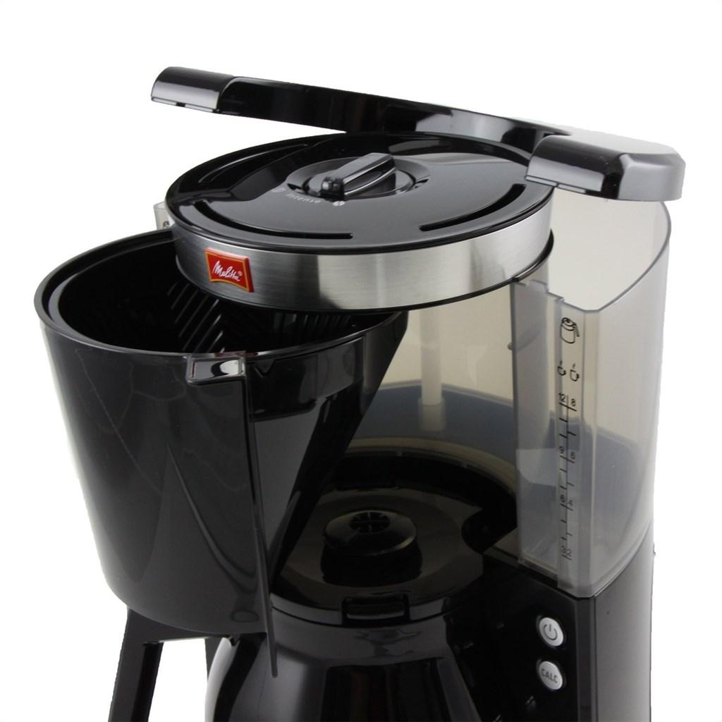 melitta 1011 12 kaffeefiltermaschine look therm selection schwarz kalkschutz ebay. Black Bedroom Furniture Sets. Home Design Ideas