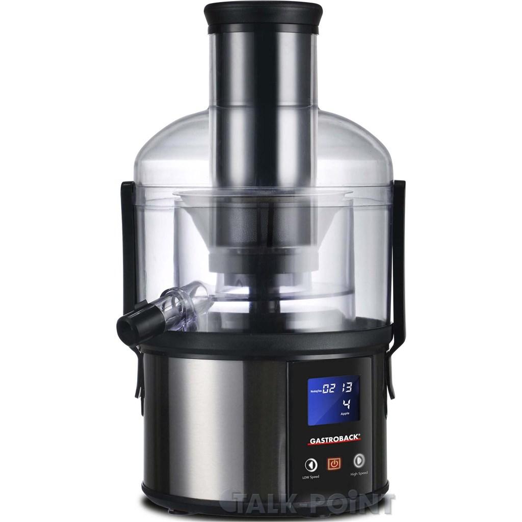 gastroback 40125 easy juicer fun entsafter edelstahl neu. Black Bedroom Furniture Sets. Home Design Ideas