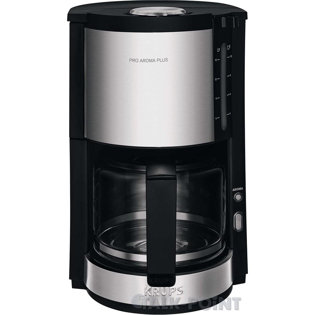 krups km3210 pro aroma plus kaffeemaschine edelstahl  ~ Kaffeemaschine Heißbrühsystem