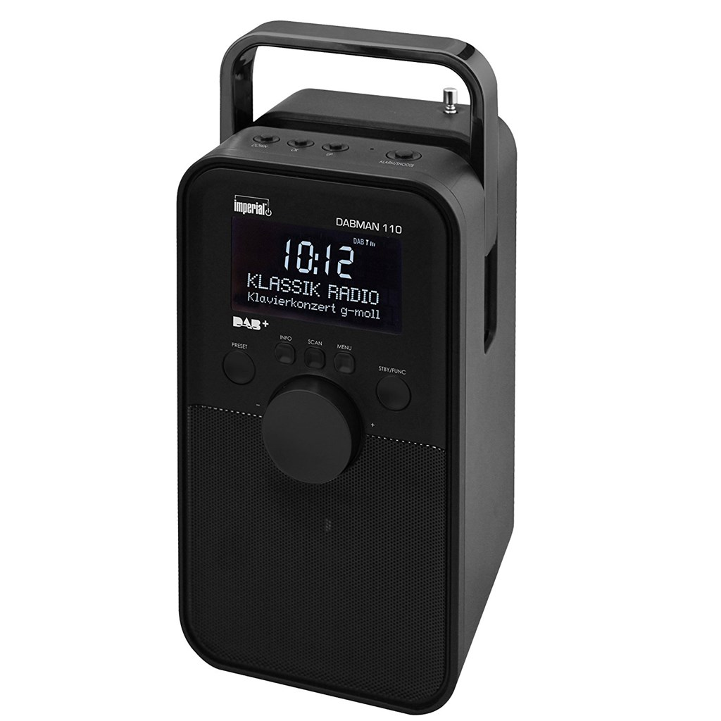 IMPERIAL DABMAN  110 DAB-RADIO (Farbe: Schwarz)