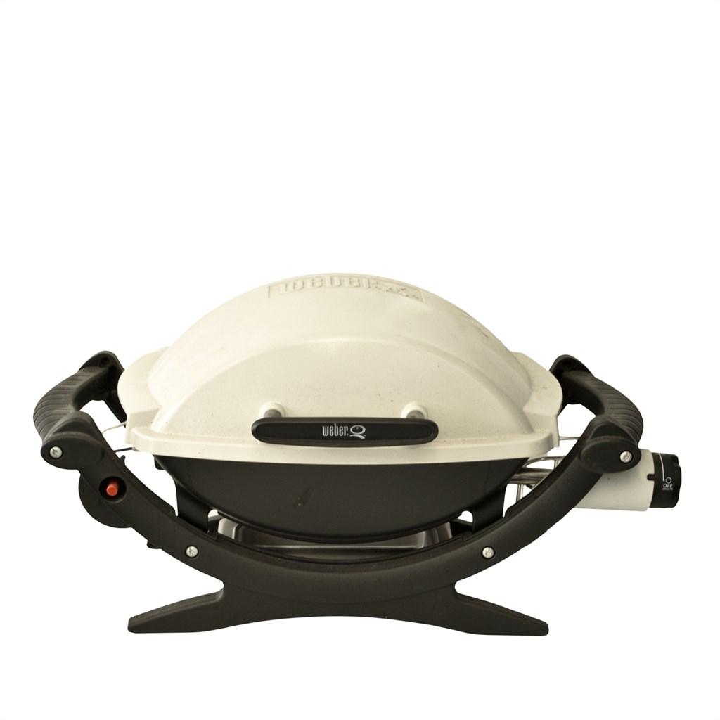 weber 386079 baby q100 gasgrill gebraucht 77924061288 ebay. Black Bedroom Furniture Sets. Home Design Ideas