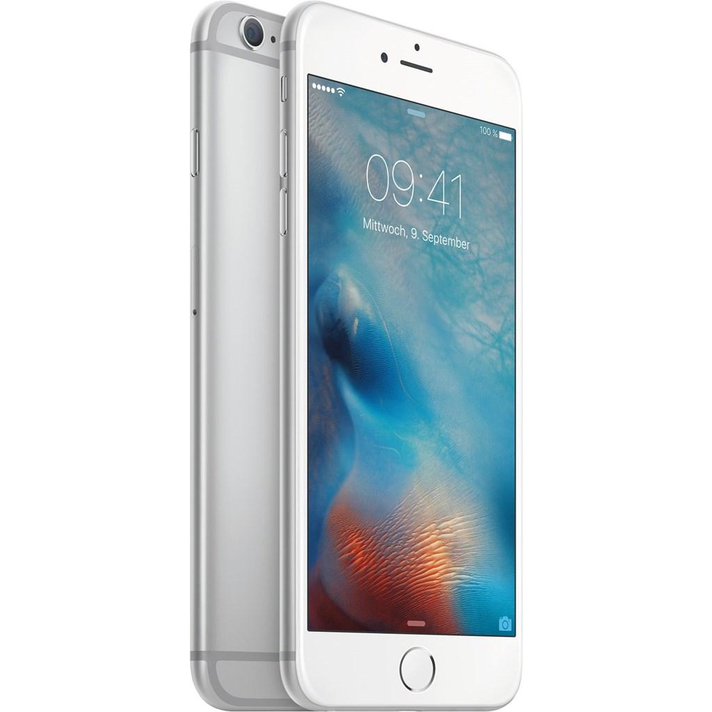 apple iphone 6s plus 16gb silber ios smartphone 5 5 zoll. Black Bedroom Furniture Sets. Home Design Ideas