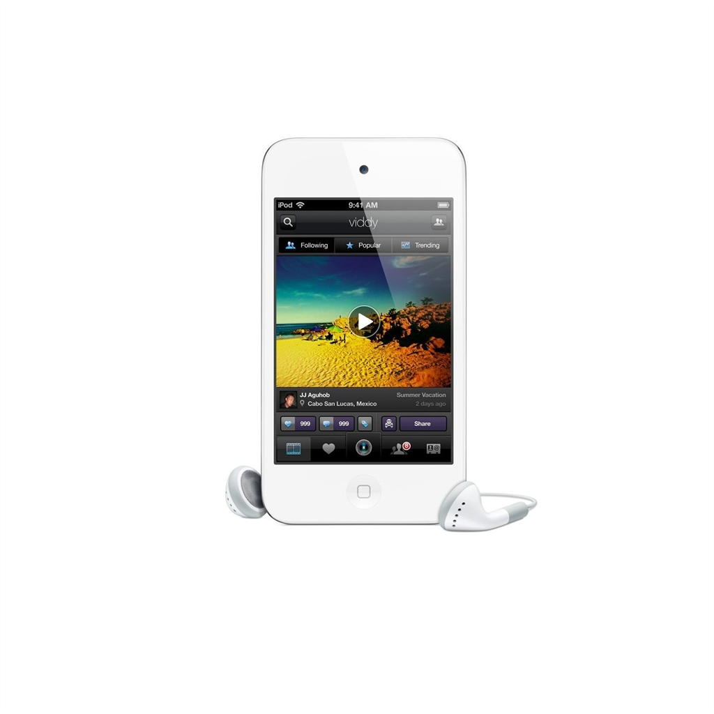 apple ipod touch 4g mp3 player 32gb weiss gebraucht. Black Bedroom Furniture Sets. Home Design Ideas