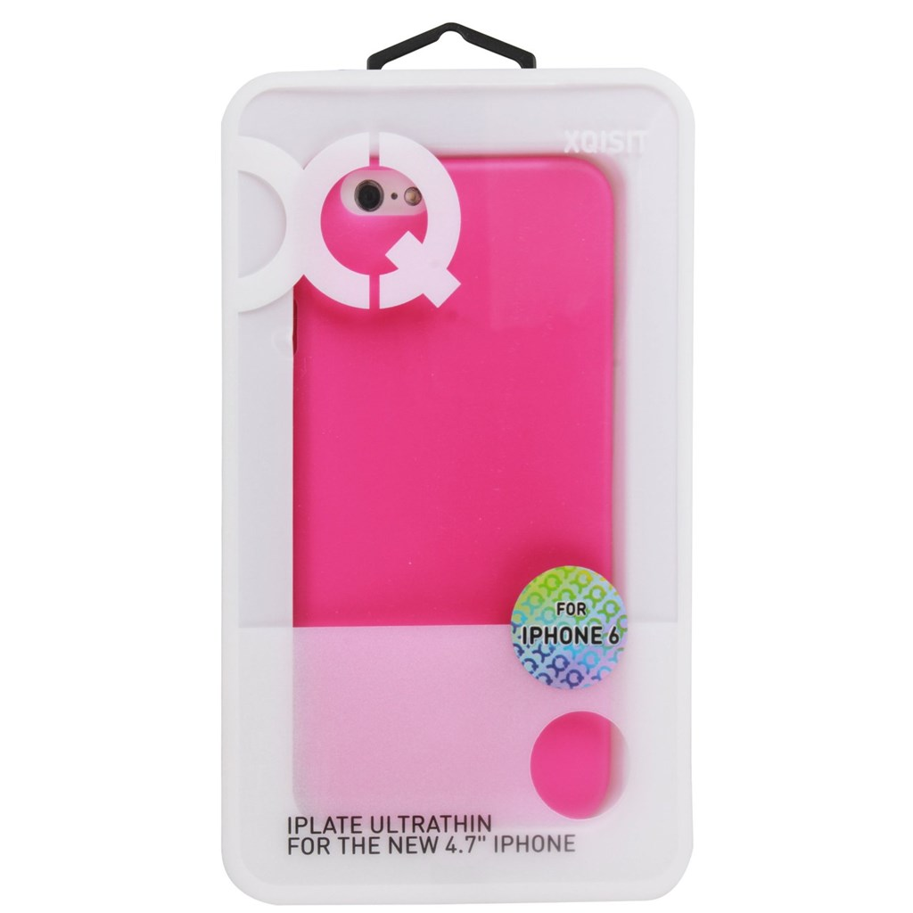 Xqisit iPlate Case Ultra Thin iPhone 6/6S pink  zBild3