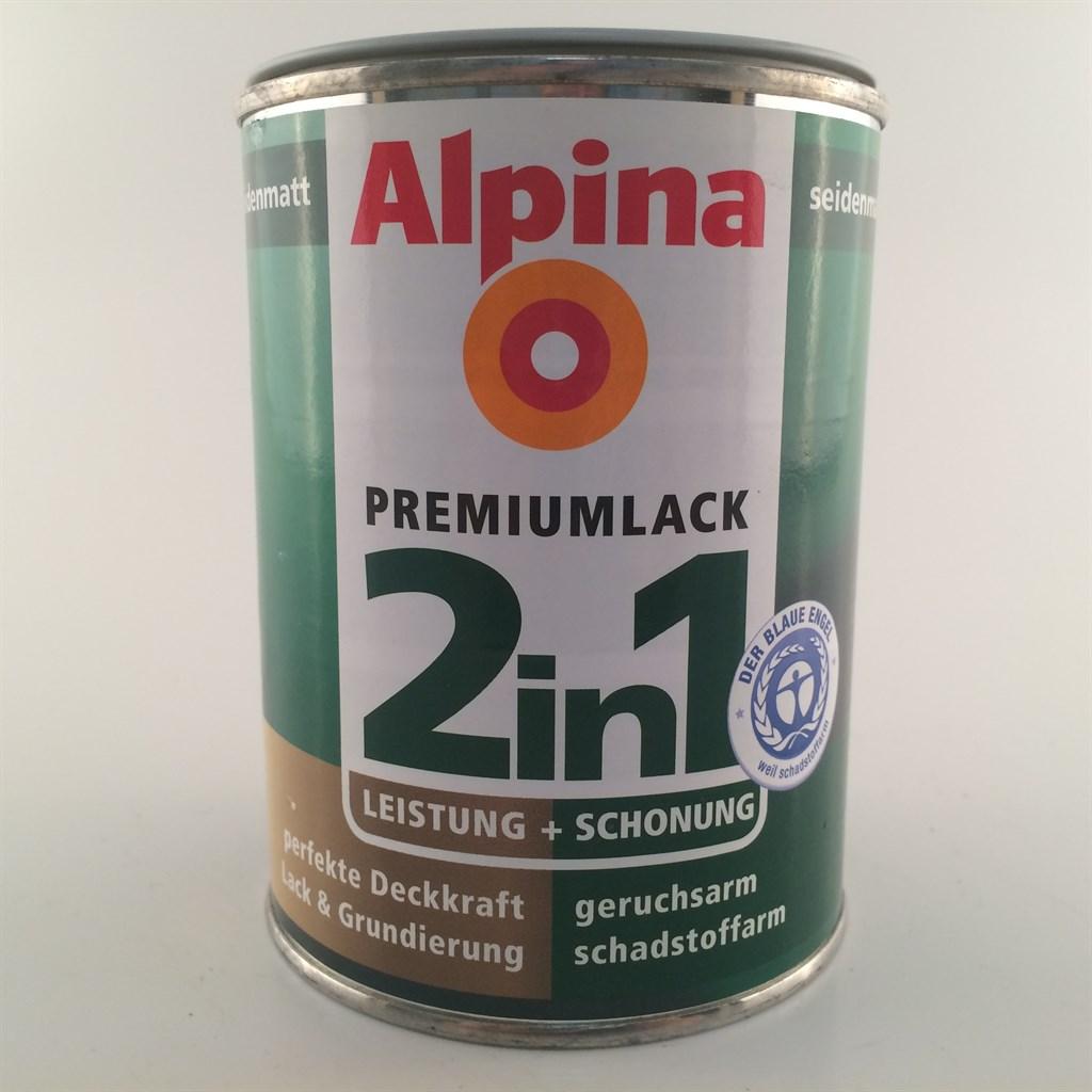 alpina 2in1 buntlack acryllack 500ml seidenmatt f r innen und aussen 7 96 l ebay. Black Bedroom Furniture Sets. Home Design Ideas