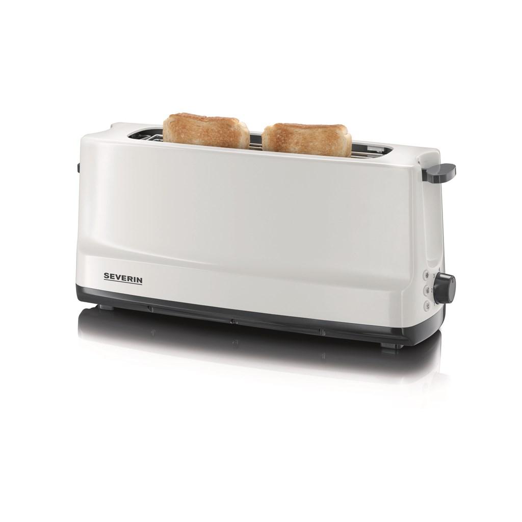 severin 2 schlitz toaster mit br tchenaufsatz neu ovp ebay. Black Bedroom Furniture Sets. Home Design Ideas