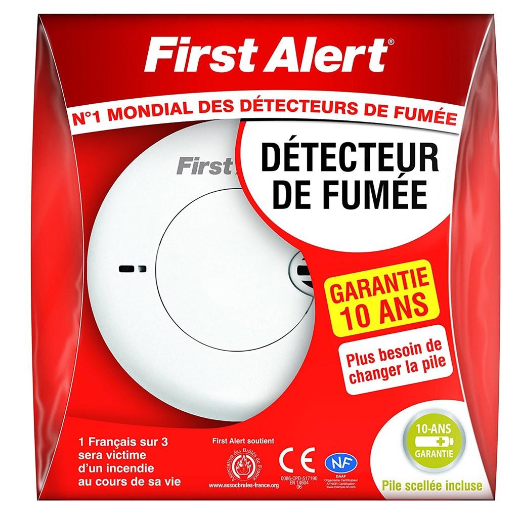 Rauchmelder First Alert 10Jahres Rauchmelder NF Zertifikat NEU&OVP ...