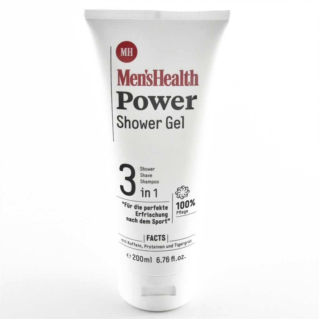 Men's Health Power Shower Gel 3 in 1 200ml  zBild1