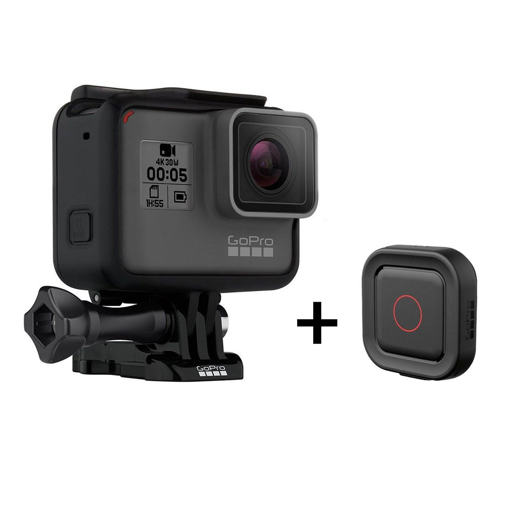 GoPro Hero5 Black Actioncam incl. Voice Remo Fernbedienung 12 Megapixel 4K UHD