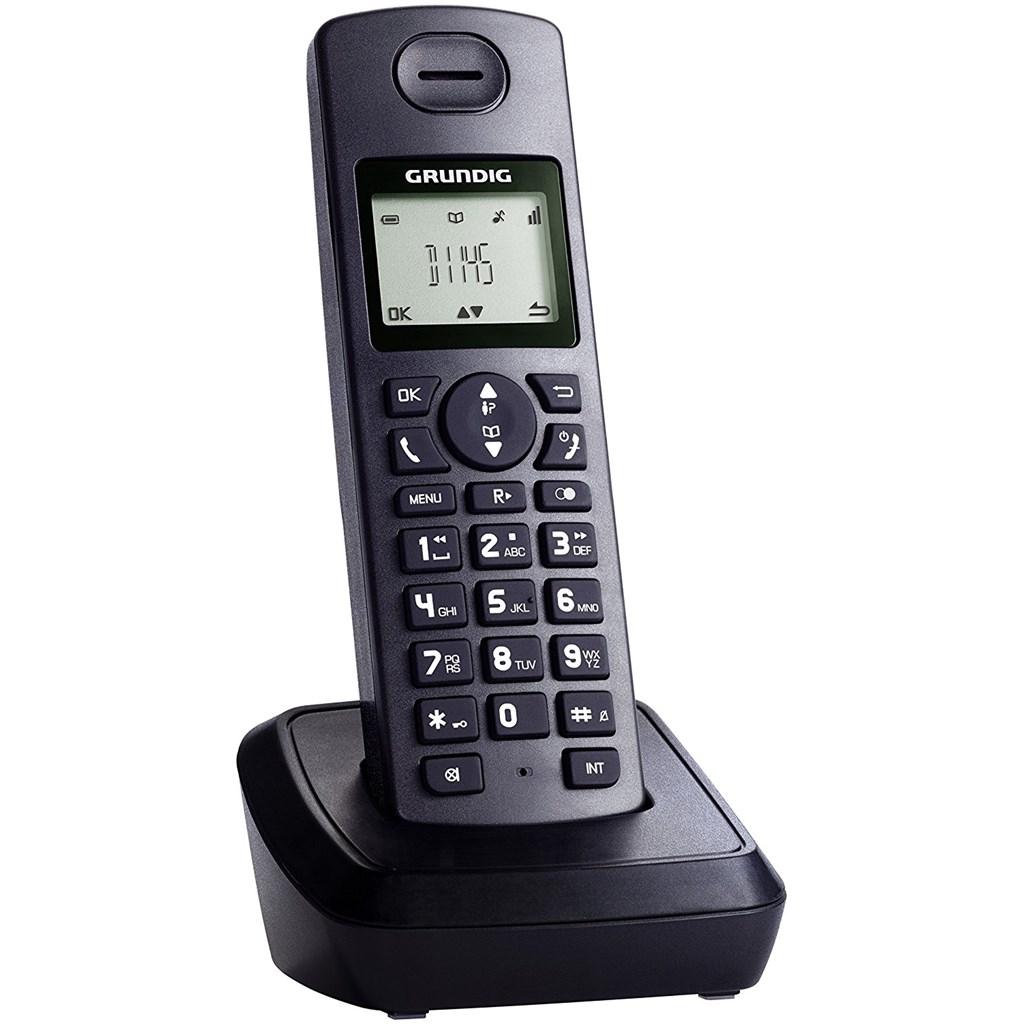 Grundig D1145 Schnurloses Telefon Schwarz Bounty Point