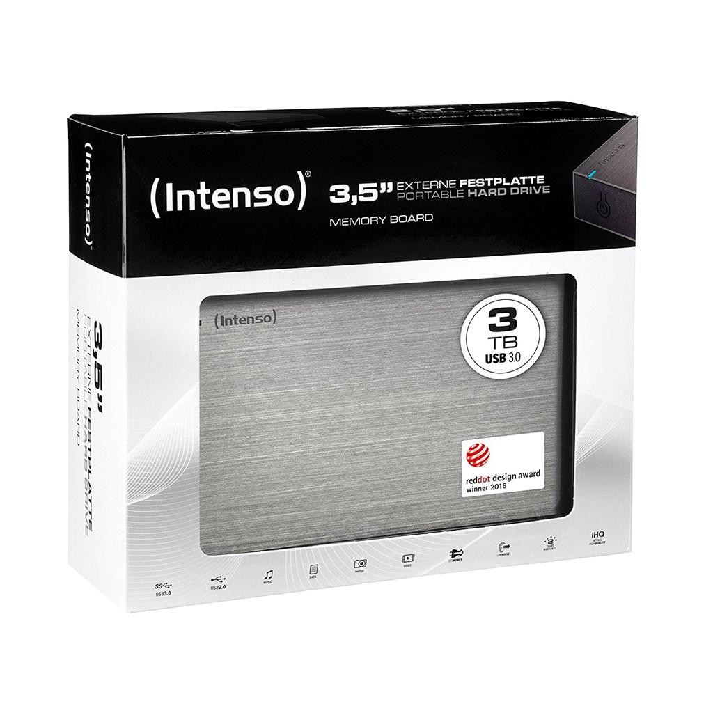 intenso festplatte 3tb 3 5 usb 3 0 ebay. Black Bedroom Furniture Sets. Home Design Ideas
