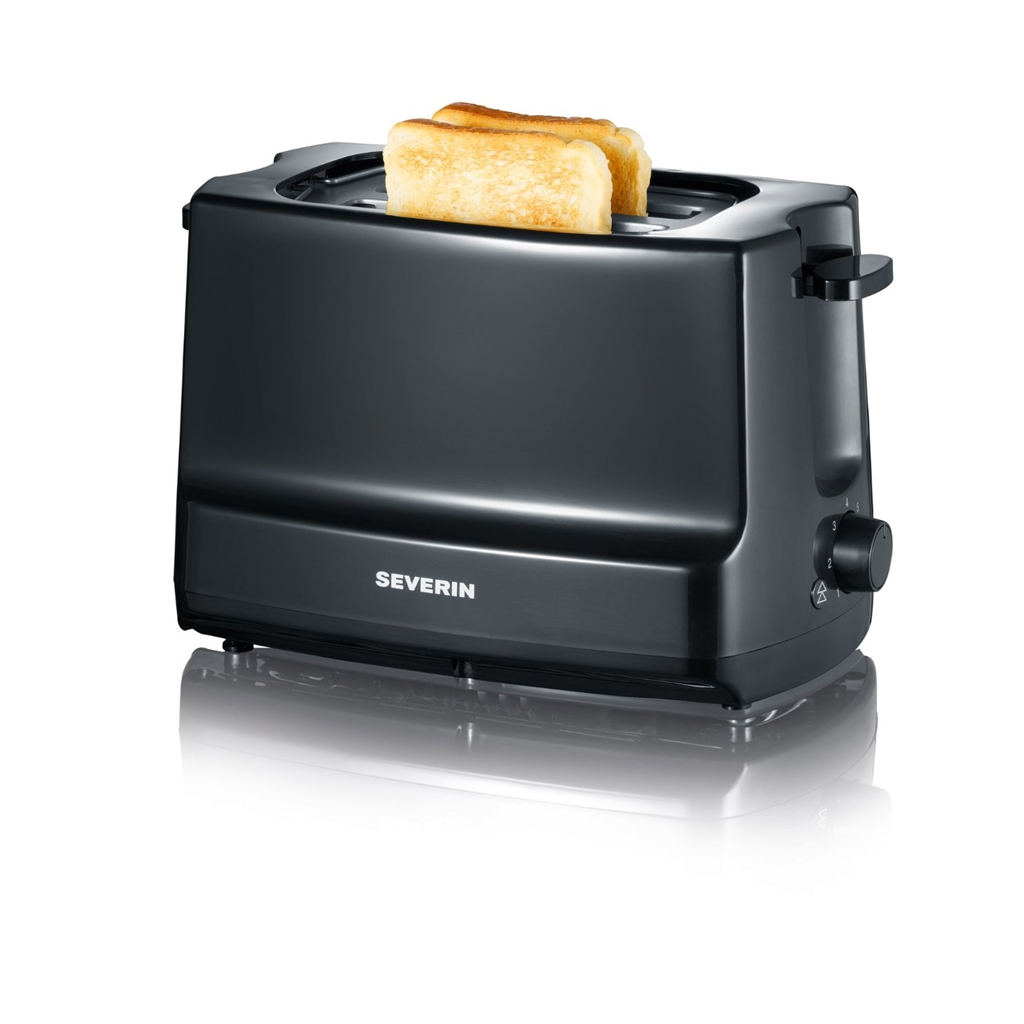 Severin AT 2281 sw/gr Toaster  zBild1