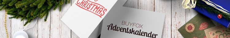 Adventskalender auf BUYFOX.de